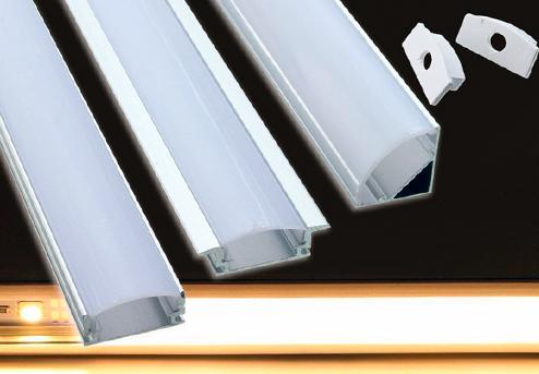 Виды алюминиевого профиля
